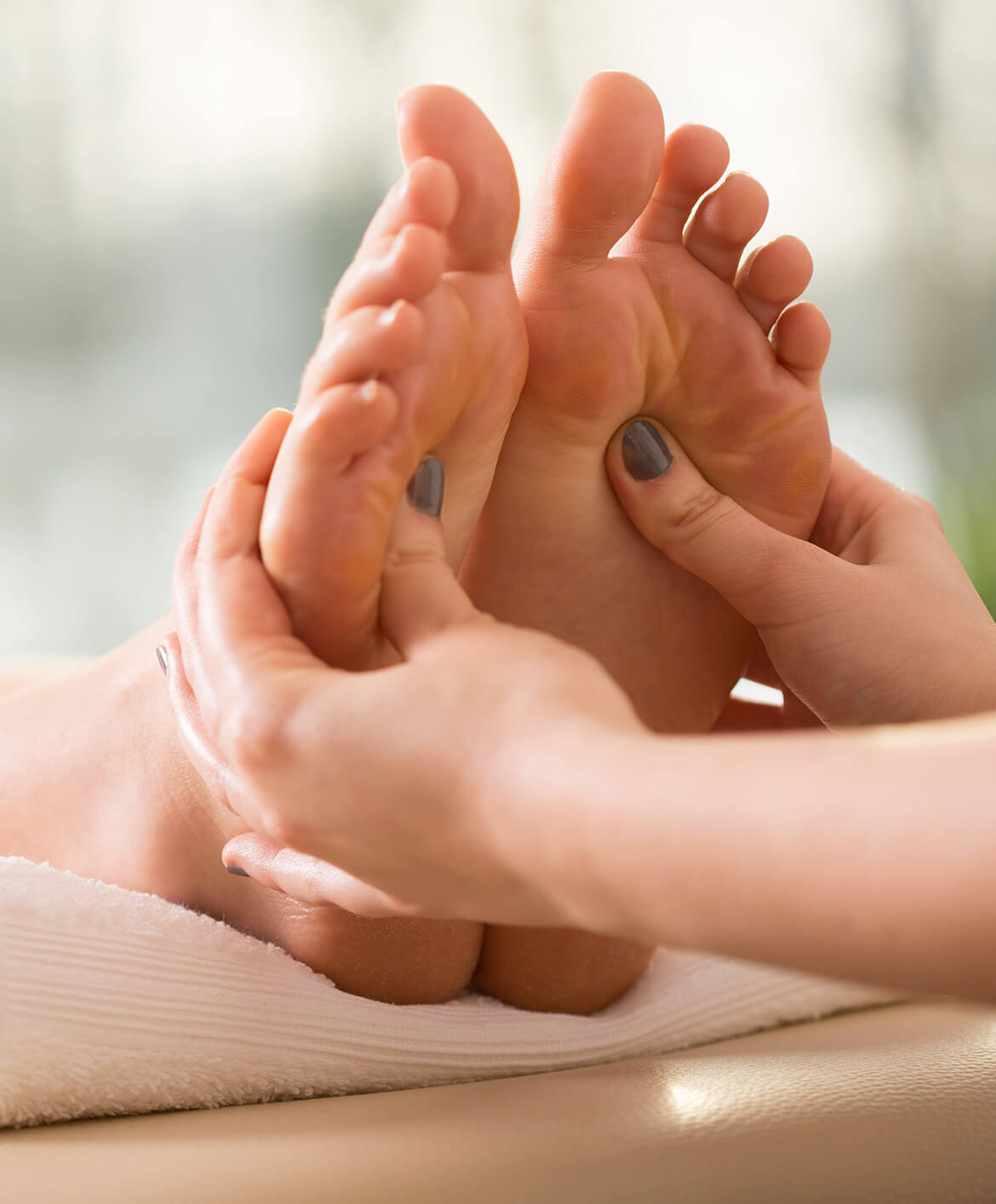 get a foot massage at blush naturally in madill oklahoma